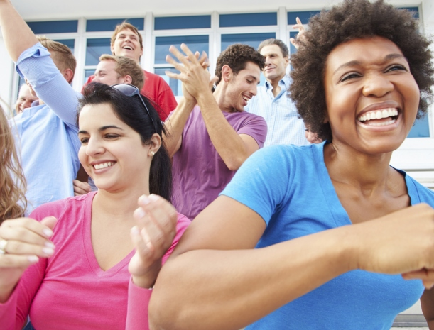 Dancing is good for our well-being
