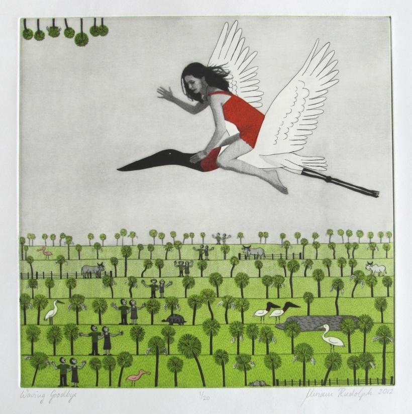 Miriam Rudolph Waving Goodbye