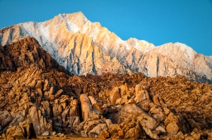 Alabama Hills Sunrise, a photograph by Nancy Cox